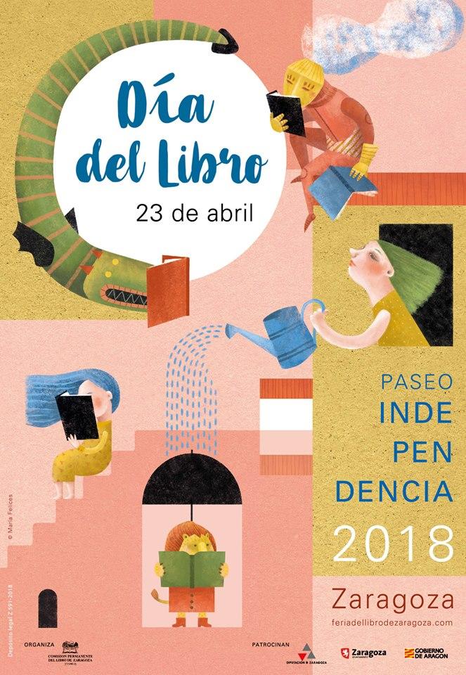 Día libro Zaragoza 2018