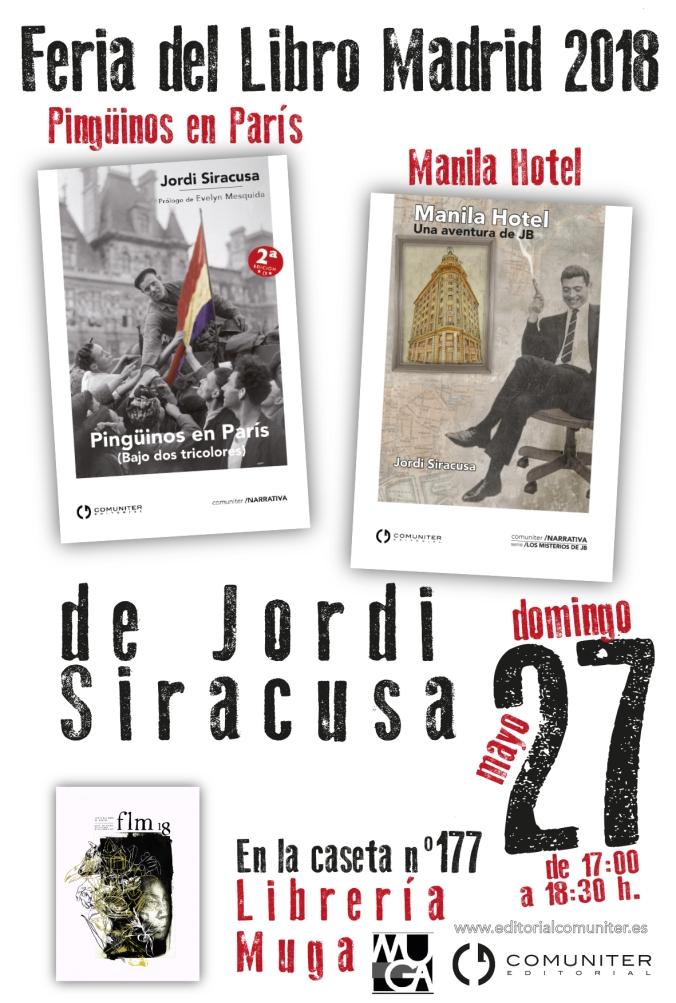Cartel Jordi Madrid